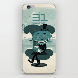I've been waiting for you, Mr. Bond iPhone Skin