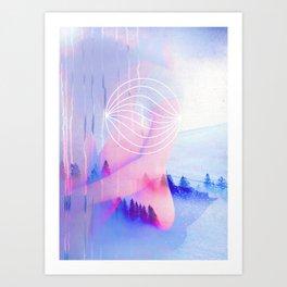 Flow to Grow Art Print