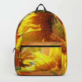 Echoes Of Sunflowers Backpack