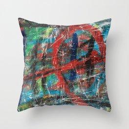 Hick Spit  Throw Pillow