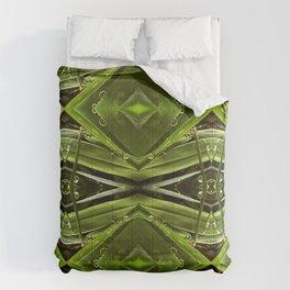 Dew Drop Jewels on Summer Green Grass Comforters