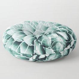 Succulent splendour - blush Floor Pillow