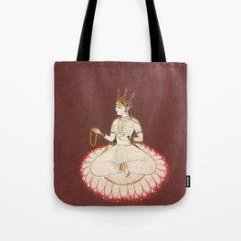 Goddess Saraswati, 17th Century Pantn Tote Bag