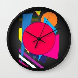 Abstract modern print Wall Clock