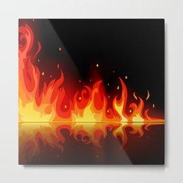 Feuer - Fire Metal Print