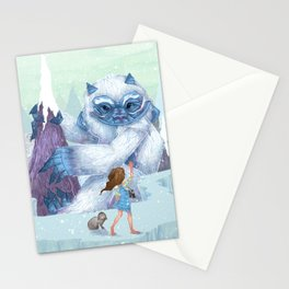 The Monstrous Mountains Stationery Cards