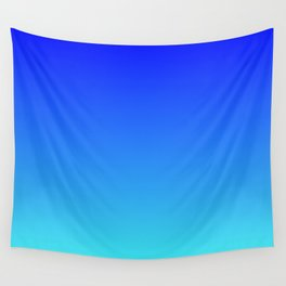 Caribbean Water Gradient Wall Tapestry