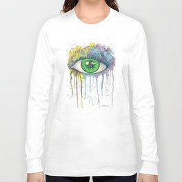 Splash Eye Long Sleeve T-shirt