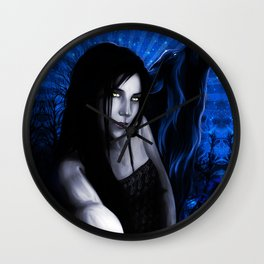 SheWolf MoonSpell Wall Clock