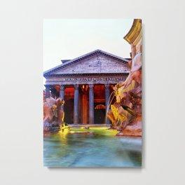 Pantheon Metal Print