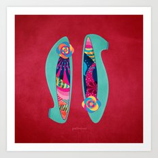 Shoes for Spring Art Print