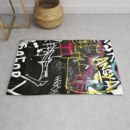 New York Traces - Urban Graffiti Rug