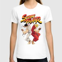 street fighter T-shirts featuring Street Fighter by Zanderillos