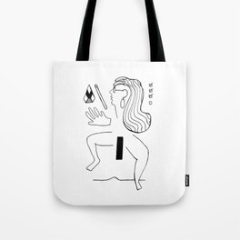 Body Fragments 01 Tote Bag