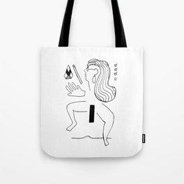 Body Fragments 01 Tote Bag