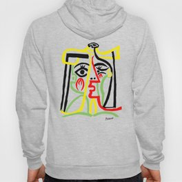 Pablo Picasso, Jacqueline with Straw Hat 1962, Artwork for Posters Prints Tshirts Women Men Kids Hoody