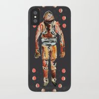 spaceman iPhone & iPod Cases featuring Spaceman by AnnaW