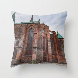 German Church Throw Pillow