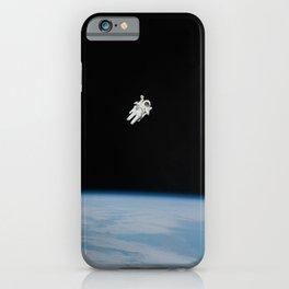 Space Walk Exploration iPhone Case