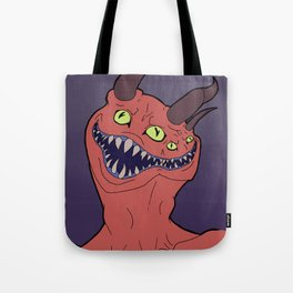 Two Faced Demon Tote Bag