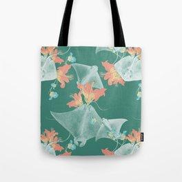 Lilies that sting Tote Bag