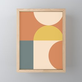 Abstract Geometric 04 Framed Mini Art Print