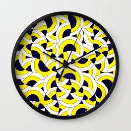 Seigaiha Series - Congregate Wall Clock
