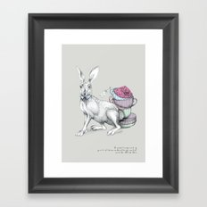 Tea with Hatter Framed Art Print