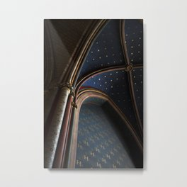 The Stars at Notre Dame Cathedral Metal Print