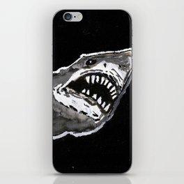 night shark iPhone Skin