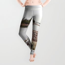 Lobster Boat and Traps Leggings