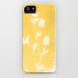 Herbal Sunprint #6 iPhone Case