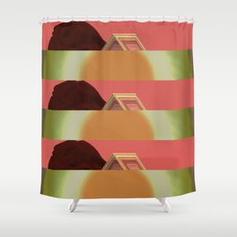 Animation 6364 Shower Curtain