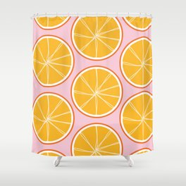 A little Zesty Shower Curtain