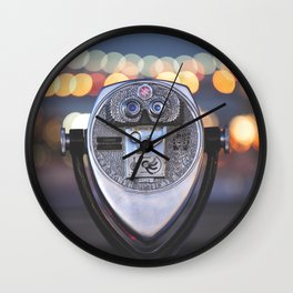 Out Tonight Wall Clock
