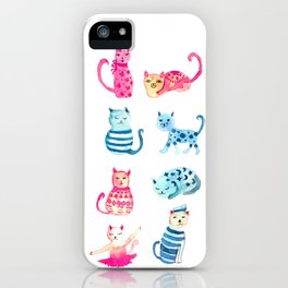 cats time iPhone Case