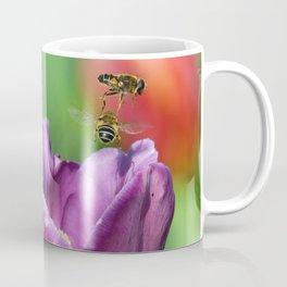 Bee flyover Coffee Mug