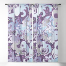 PETRI-PARTY Sheer Curtain
