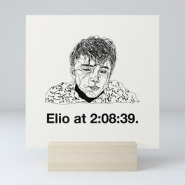 Elio Mini Art Print