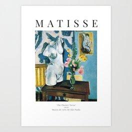 The Plaster Torso - Henri Matisse - Exhibition Poster Art Print