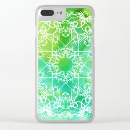 Cass #1 Clear iPhone Case