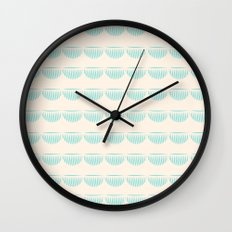 half moons Wall Clock