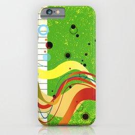 Jazz Background iPhone Case