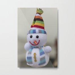 snowmen for Christmas decoration Metal Print