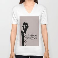dale cooper V-neck T-shirts featuring Cooper by Lindsay Happ