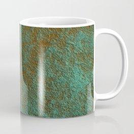 Green Patina Copper rustic decor Coffee Mug