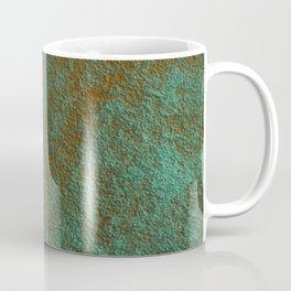 Green Patina Copper rustic decor Coffee Mug