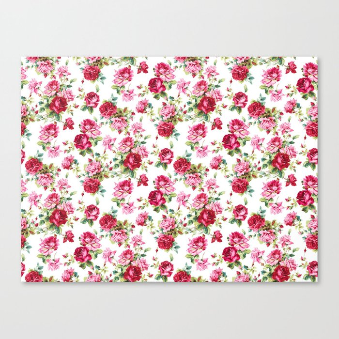 S/S 17 Spring Summer Trend Pattern Canvas Print