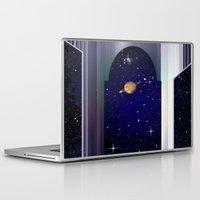 "titan Laptop & iPad Skins featuring House on ""Titan"" !  by capricorn"