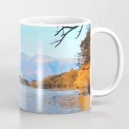 Mountains Behind Derwentwater, Lake District, Cumbria, UK Coffee Mug